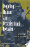 Modeling Human And Organizational Behavior