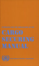 Guidelines for the Preparation of the Cargo Securing Manual