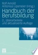 Handbuch der Berufsbildung