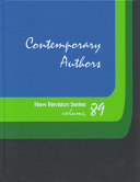 Contemporary Authors New Revision Series: A Bio-Bibliographical Guide to Current Writers in Fiction, General Non-Fiction, Poetry, Journalism, Drama, M