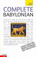 Complete Babylonian  A Teach Yourself Guide