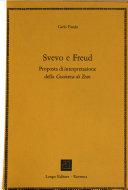 Svevo e Freud