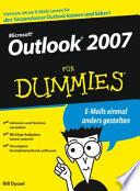 Outlook 2007 f  r Dummies
