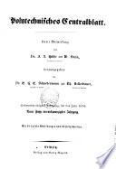 Polytechnisches Centralblatt