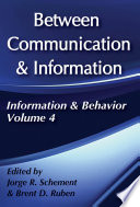 Between Communication and Information