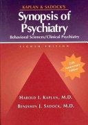 Kaplan And Sadock S Synopsis Of Psychiatry
