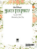 Walt Disney s Alice s Tea Party Book PDF