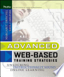 Advanced Web Based Training Strategies book