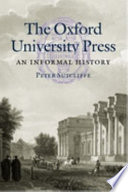 The Oxford University Press book