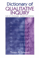 Dictionary of Qualitative Inquiry