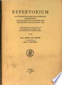 Repertorium