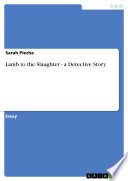 Lamb to the Slaughter   a Detective Story