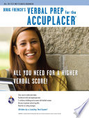 Accuplacer  Doug French s Verbal Prep