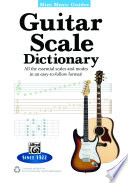Mini Music Guides  Guitar Scale Dictionary