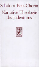 Narrative Theologie des Judentums