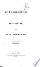 De Hoogeschool In Duitschland