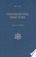 Official Congressional Directory, 2007-2008