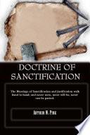 DOCTRINE OF SANCTIFICATION