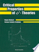 Critical Properties Of Greek Letter Phi 4 Theories