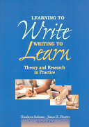 Learning to Write, Writing to Learn