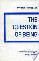The Question of Being