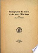 bibliographie du shinto et des sectes shintoistes