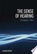 The Sense Of Hearing book