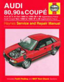 Audi 80  90 and Coupe Owner s Workshop Manual