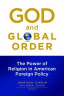 God and Global Order