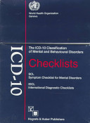 Icd 10 Checklists