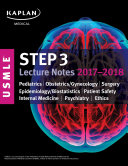 USMLE Step 3 Lecture Notes 2017 2018  2 Book Set