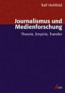 Journalismus und Medienforschung