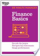 Finance Basics  HBR 20 Minute Manager Series