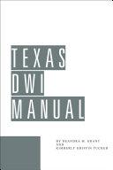 Texas DWI Manual