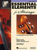 Essential Elements 2000 for Strings Cello