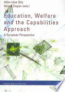 Education  Welfare and the Capabilities Approach
