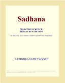 Sadhana  Webster s French Thesaurus Edition