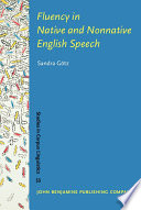 fluency in native and nonnative english speech