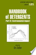 Handbook of Detergents  Part B