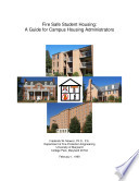 Fire Safe Student Housing A Guide For Campus Housing Administrators
