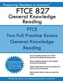 Ftce 827 General Knowledge Reading