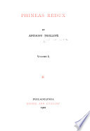 The Writings of Anthony Trollope  Phineas Redux
