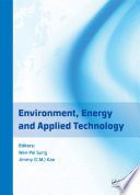 Environment  Energy and Applied Technology