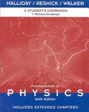 Fundamentals of Physics, A Student's Companion e-Book to accompany Fundamentals of Physics, A Student's Companion
