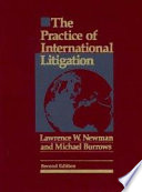 Practice of International Litigation   Second Edition