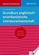 Uni Wissen Grundkurs anglistisch amerikanistische Literaturwissenschaft  deutsche Version