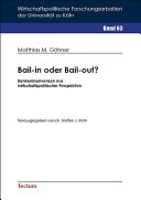 Bail-in oder Bail-out?