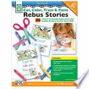 Cut  Color  Trace   Paste Rebus Stories  Ages 5   8