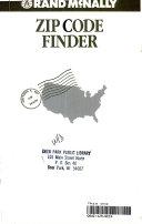 Rand McNally zip code finder