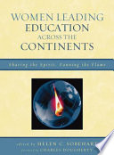 Women Leading Education Across The Continents book